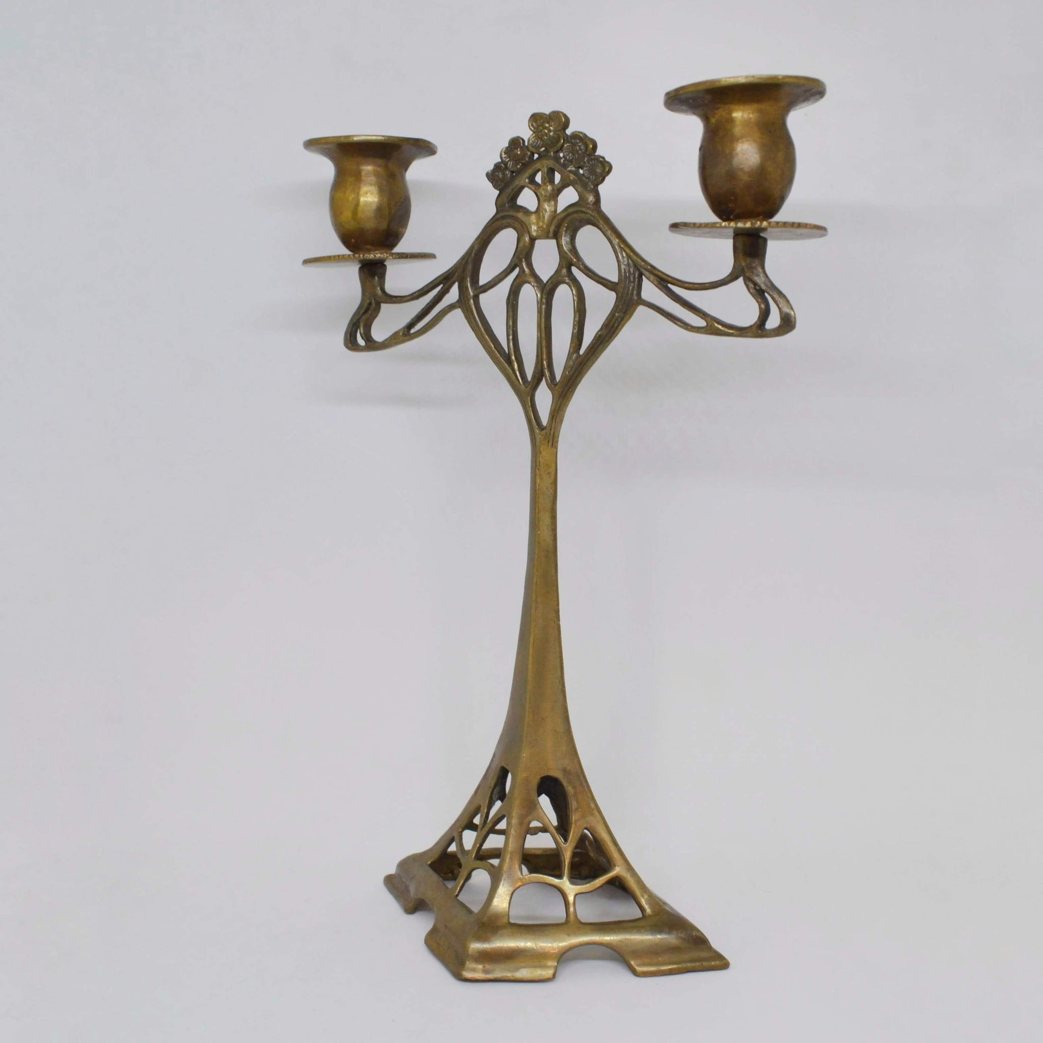 Romantic Copper Candleholder