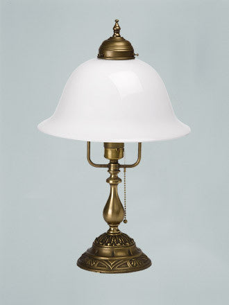 Table Lamp with Ornamental Base