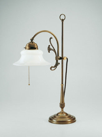 Adjustable Table Lamp with Plant Motif