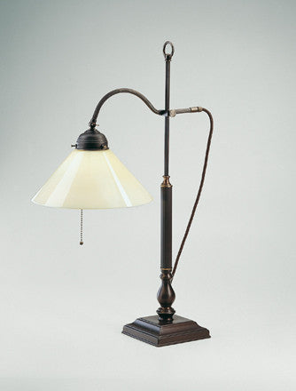 Adjustable Table Lamp with Square Base