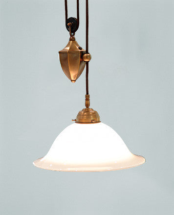 Adjustable Ceiling Lamp with Brass Weight