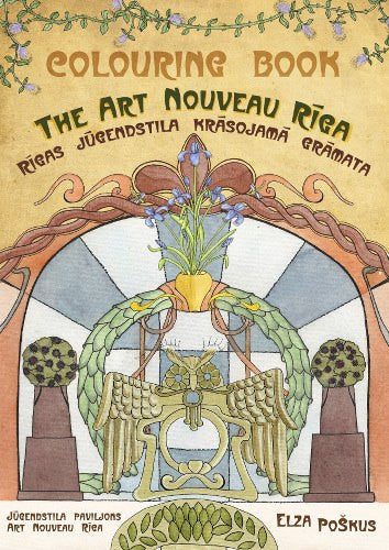 Art Nouveau Riga Colouring Book