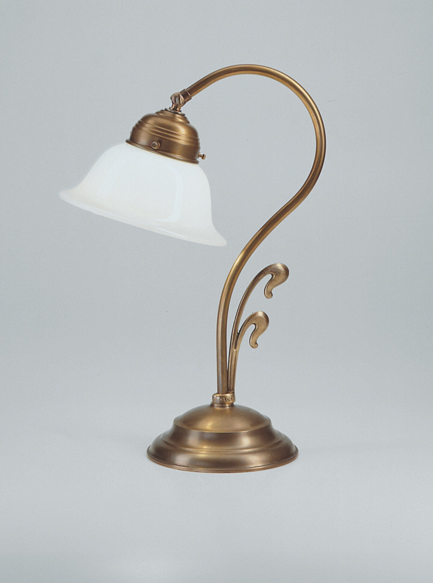 Table Lamp with a Curve