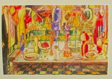 "Latvian Artists' Series - ""The Festive Table"""