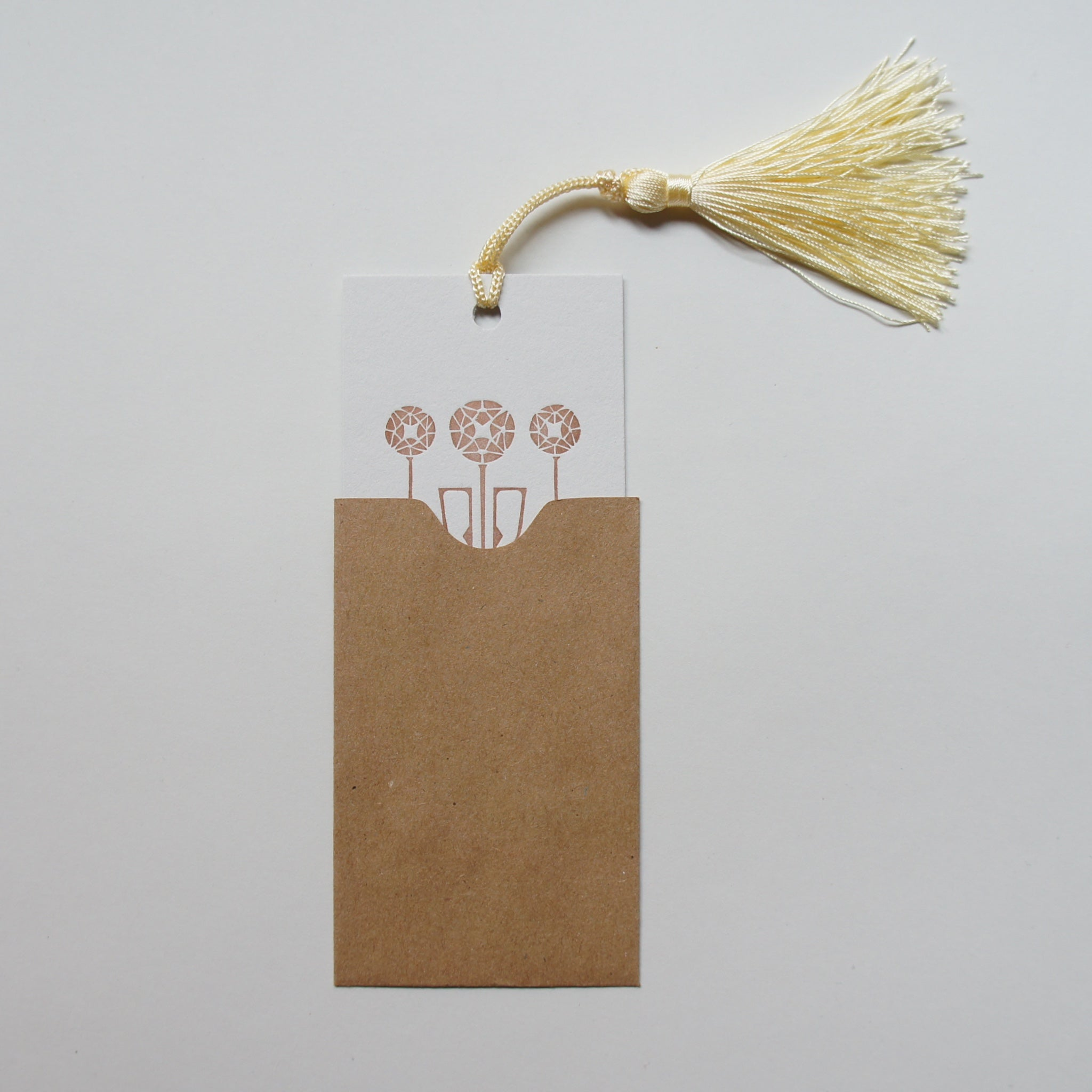 Embossed Gift Card with Tassel
