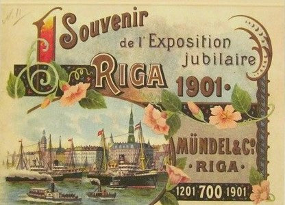 "Riga 1901 Series - ""The catalog for the Mindel & Co Tobacco"""