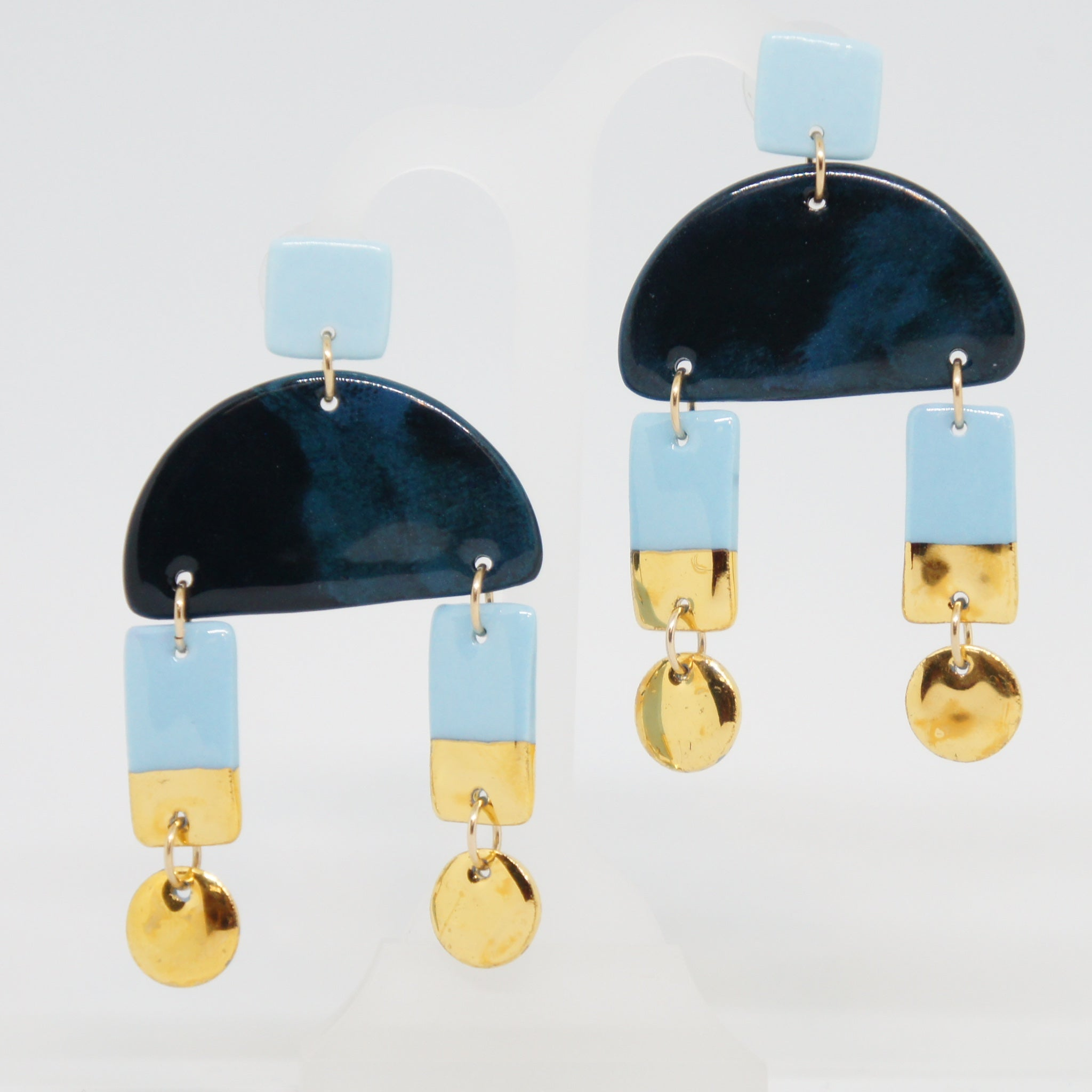 Rozenthal  Porcelain Earrings