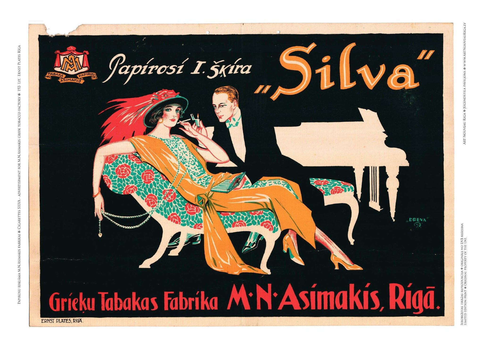 Enchanting Company with Cigarettes Silva