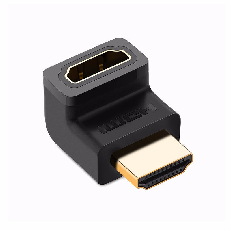 HDMI Male to Female Adapter - 90 Degree