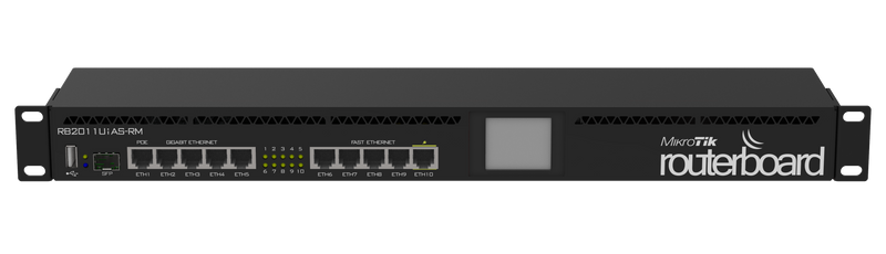 MikroTik RouterBoard 10 Ports Ethernet Router