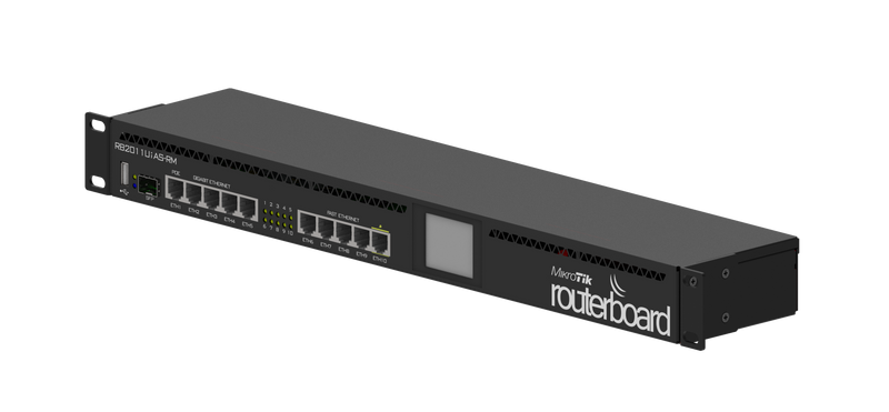 MikroTik RouterBoard 10 Ports (5/100mpbs – 5/1000mbps) Ethernet Router L5