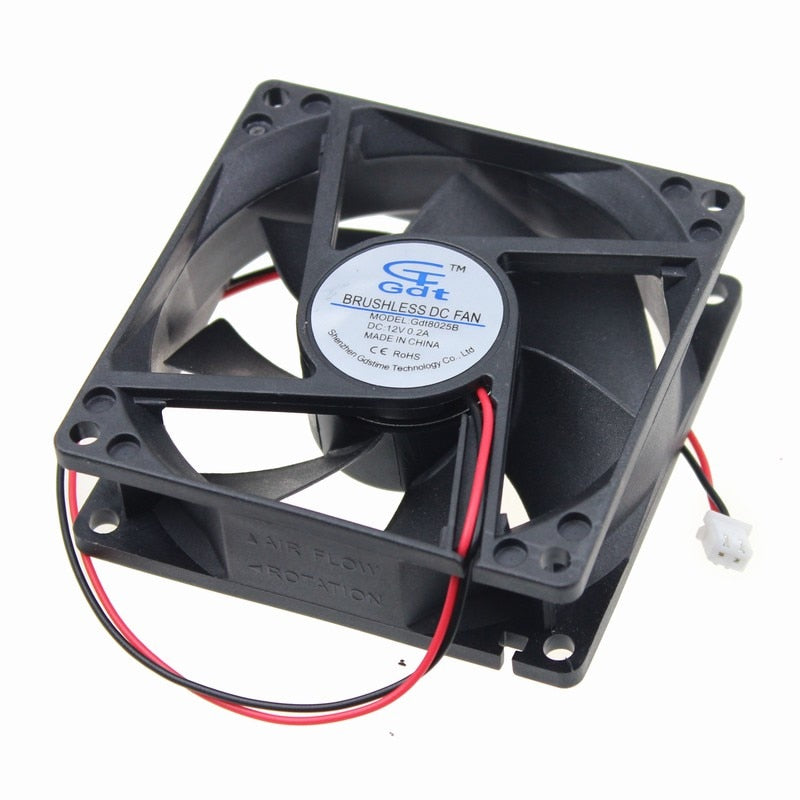 Axial Fan DC12V (120x120x25)