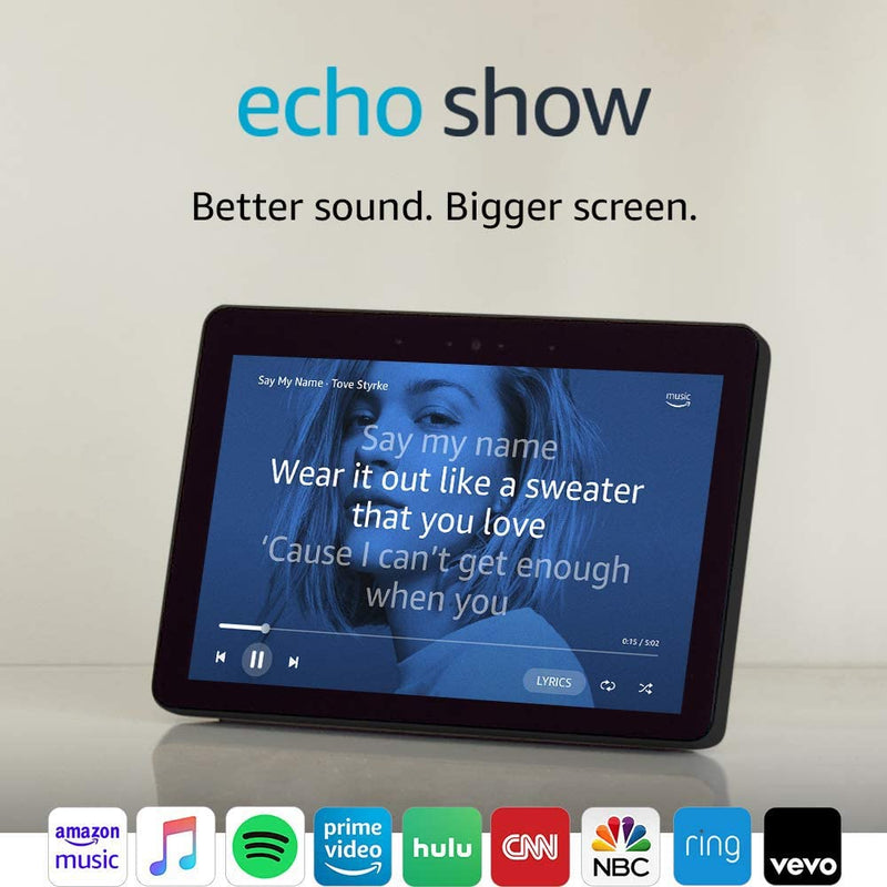 Echo Show- Smart Speaker and Screen with Alexa