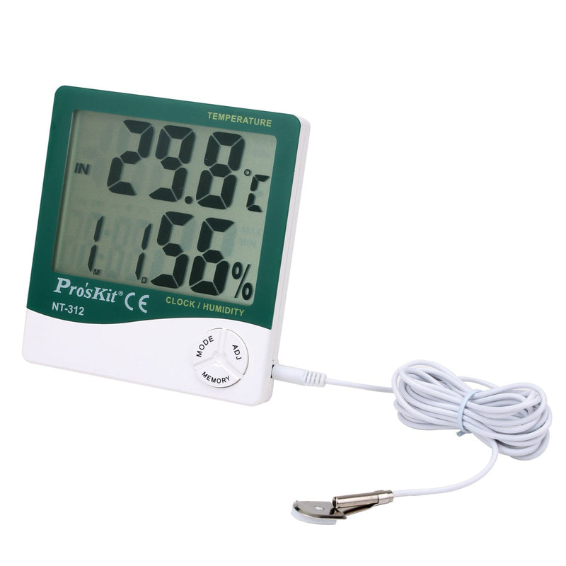 Digital Temperature HumidityMeter With Probe
