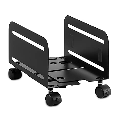 CPU Stand with wheels adjustable w/ ventilation