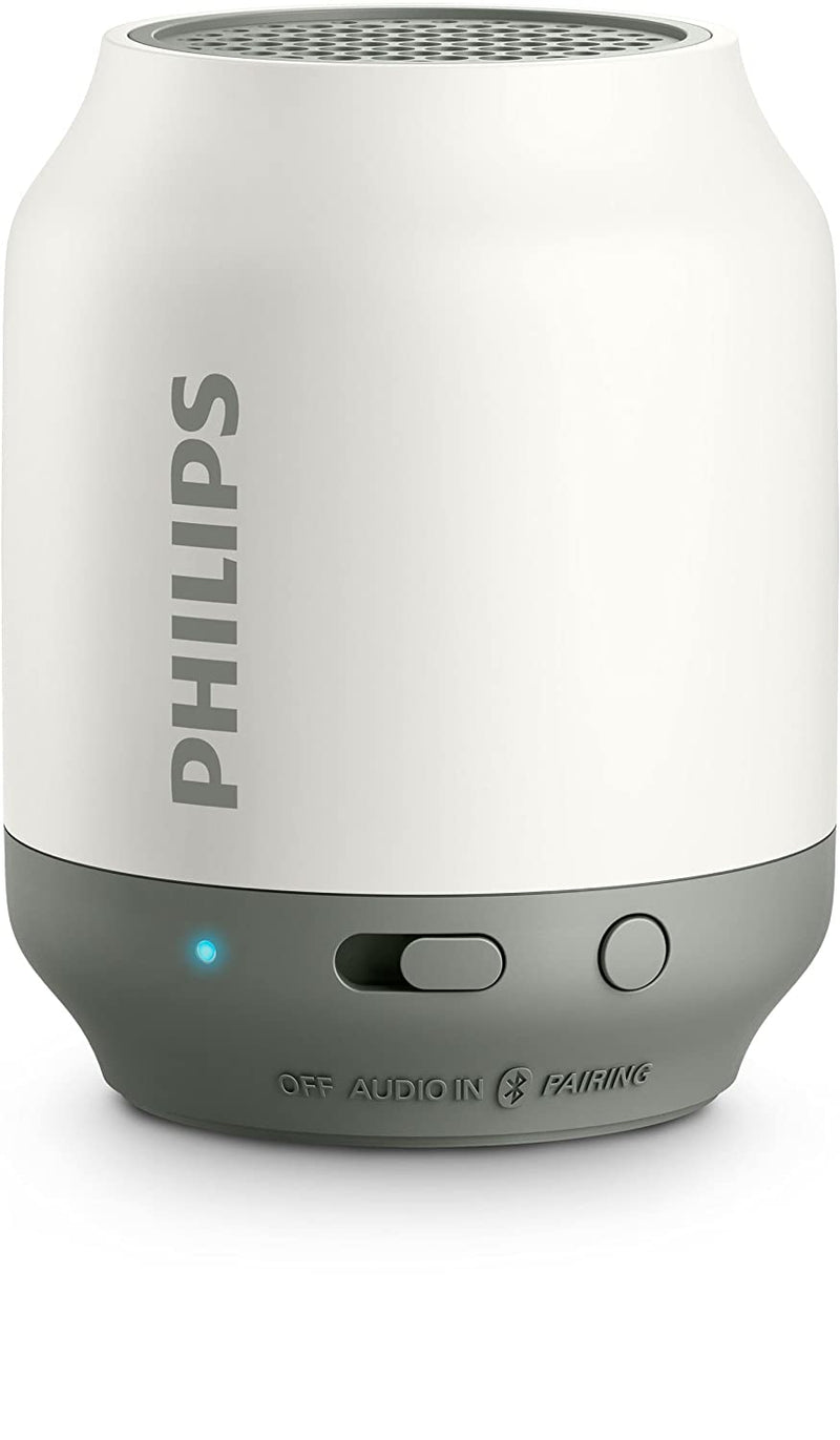 Philips Bluetooth Portable Speaker White 2W