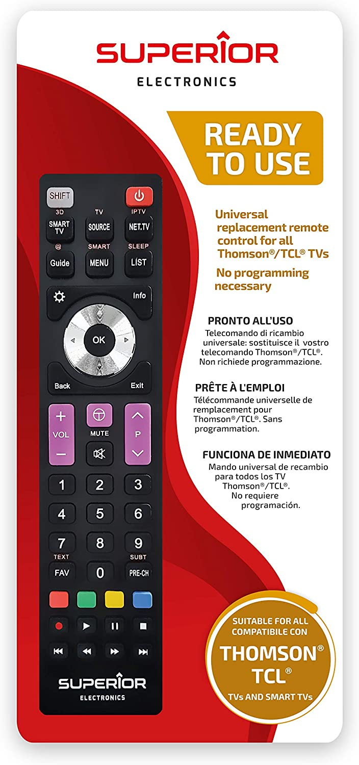 Remote Controls - Universal Replacement TCL