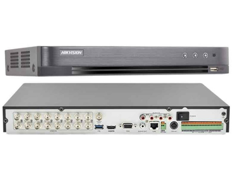 16 Channel Turbo HD DVR (8MP Max) 2X SATA