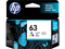 HP 63 Tri Original Ink Cartridge