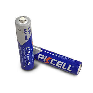 LiFe FR6 Non-rechargeable AAA Lithium battery - Longer Lifetime (4Pcs/card)