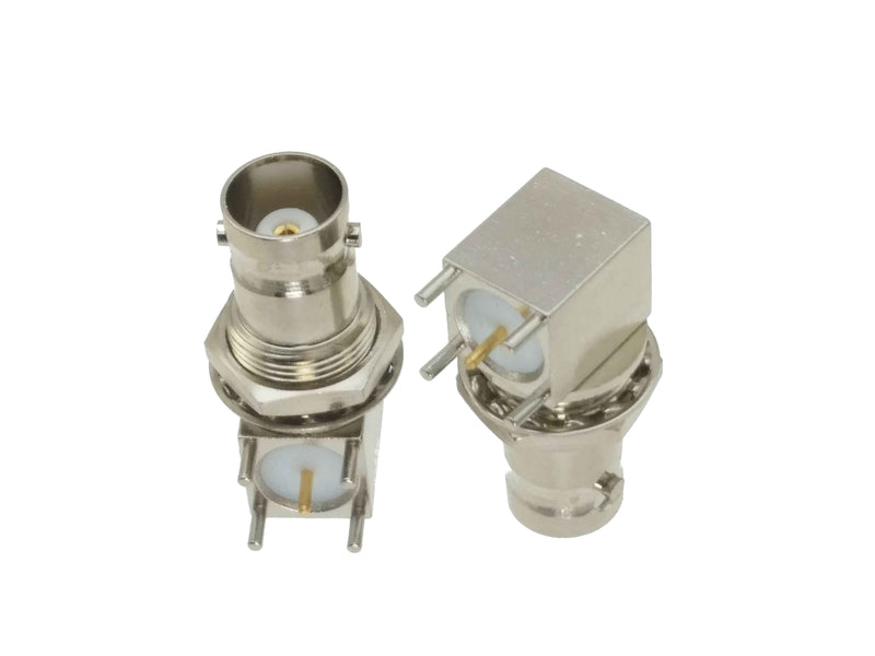 BNC Angle Soldering Type Connector