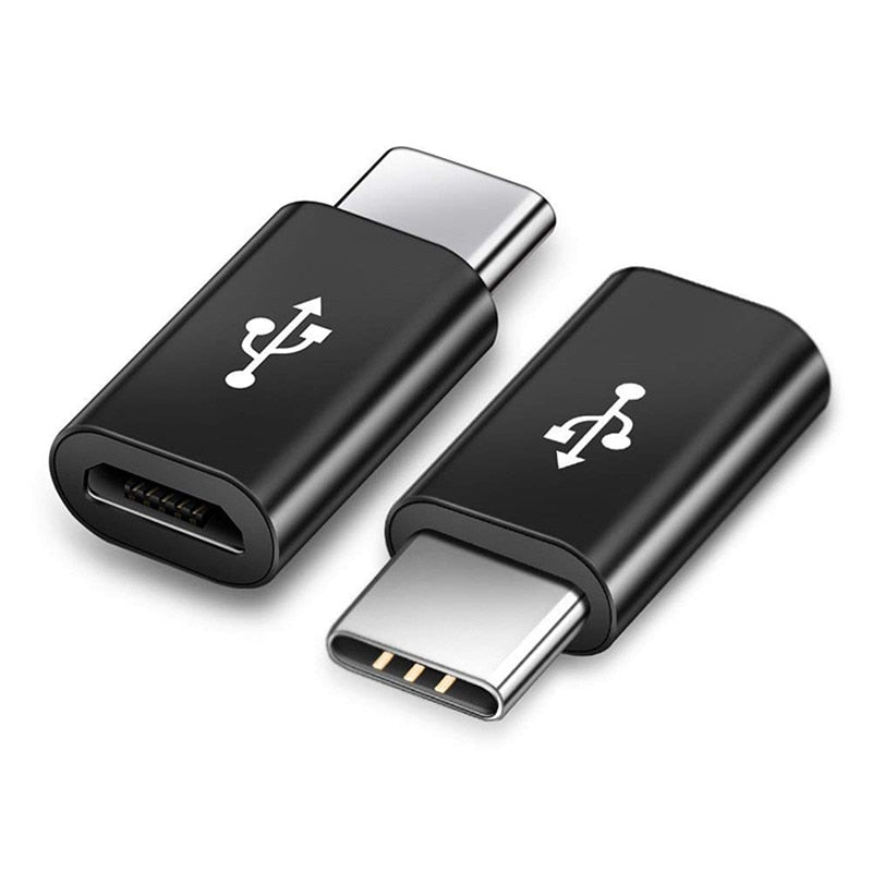 Micro USB Female to USB Type-C Male