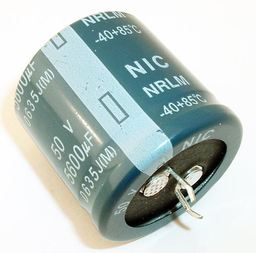 ELECTROLYTIC CAPACITOR 50V 5600uf