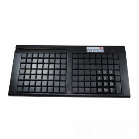 111 key black programmable keyboard w/o MSR (USB), w/ TYSSO LOGO