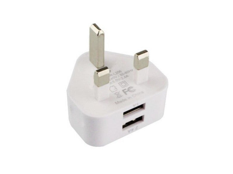 USB Charger 5V 2.4A (UK PLUG)