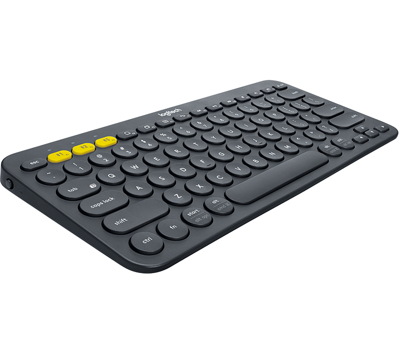 Logitech Multi Device Bluetooth Keyboard (Black)