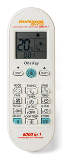 Air Conditioning Remote Controls - AirCo 6000 in1
