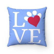Load image into Gallery viewer, Love | Polyester Square Pillow
