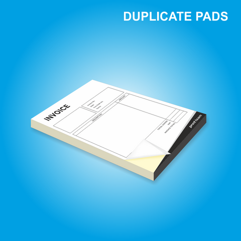 NCR A4 Duplicate (Pads)