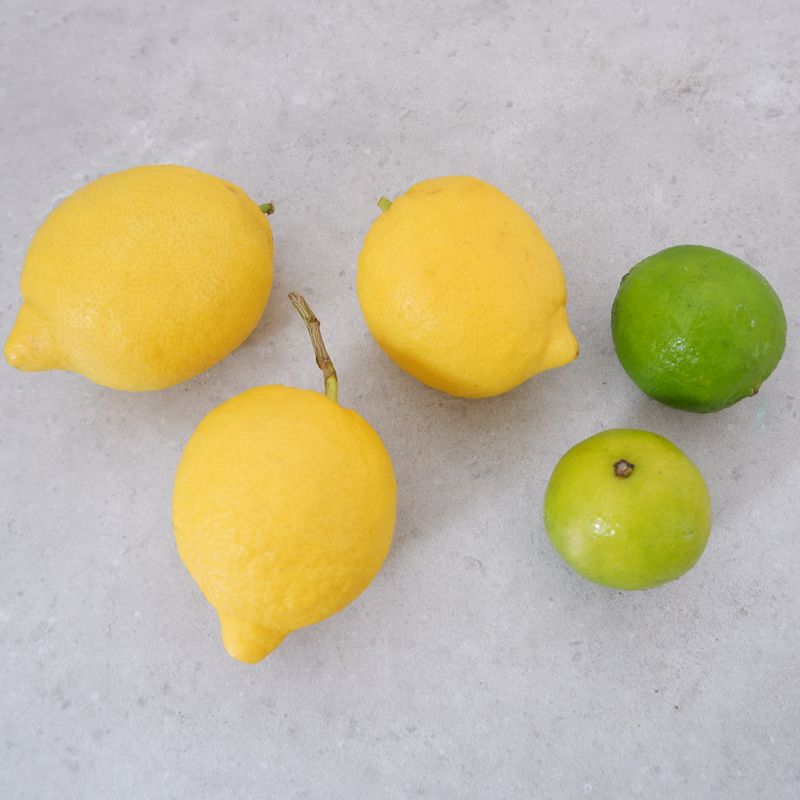 Lemons (3) and Limes (4)
