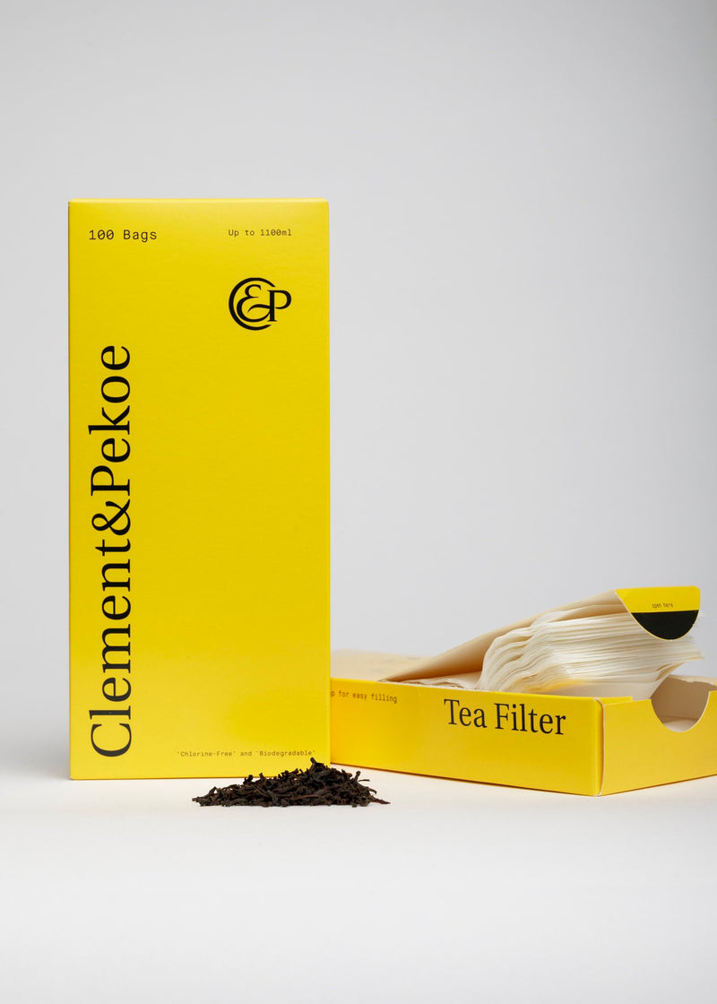 Clement & Pekoe Biodegradable Tea Filters