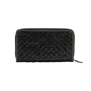 vita wallet intreciatto black (NEW)