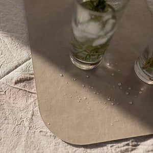 placemat double-sided quarzo/grey (VEGAN)
