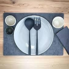 *PLACEMAT RECTANGLE TEC paper (VEGAN) -wholesale
