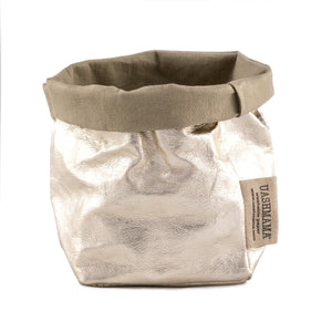 * PAPER BAG PICCOLO METALLIC (VEGAN) - wholesale