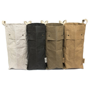 laundry bag black (VEGAN)
