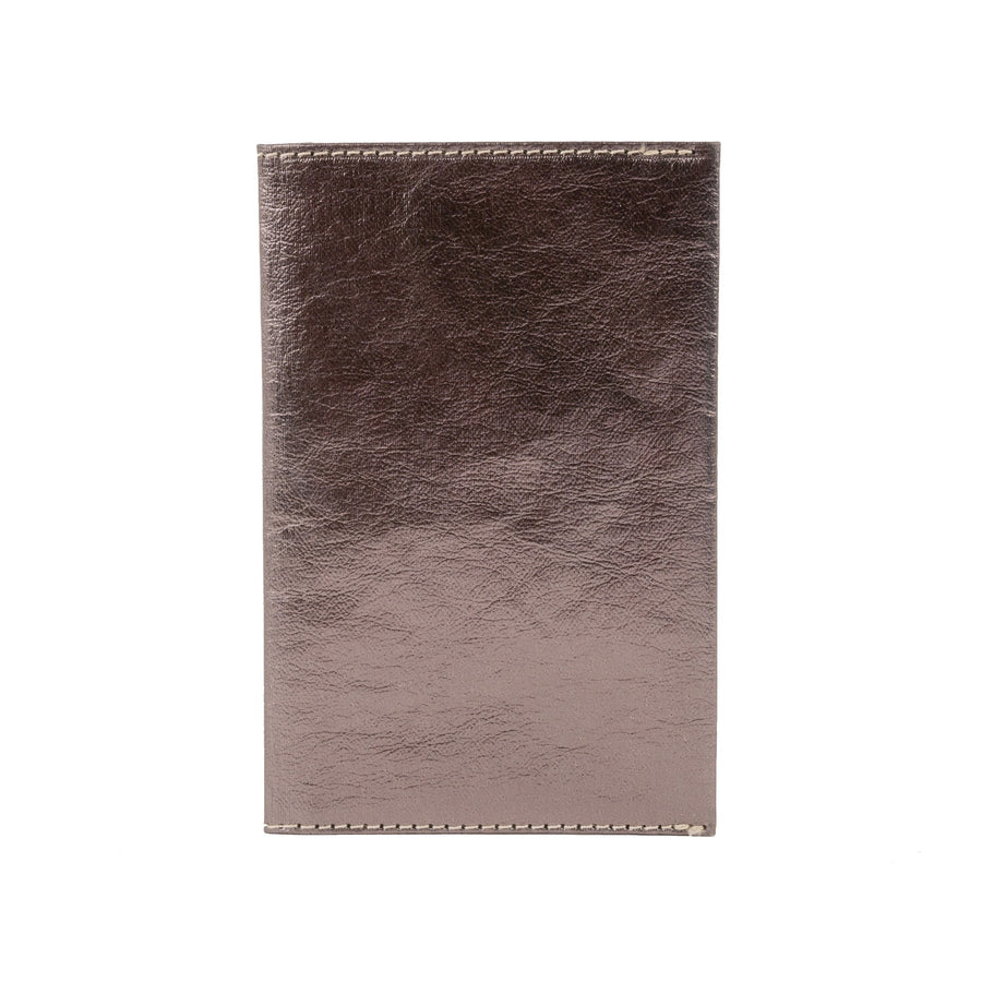 large wallet metallic peltro (vegetale)