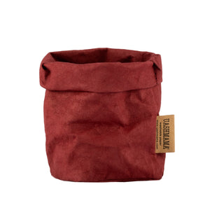 bordeaux paper bag