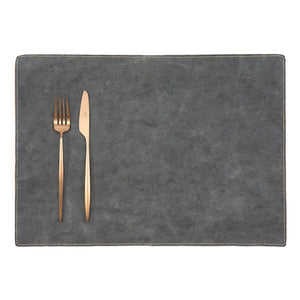 placemat TEC paper dark grey