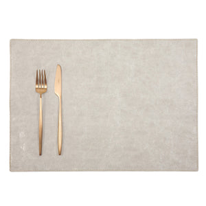 placemat TEC paper grey (VEGAN)