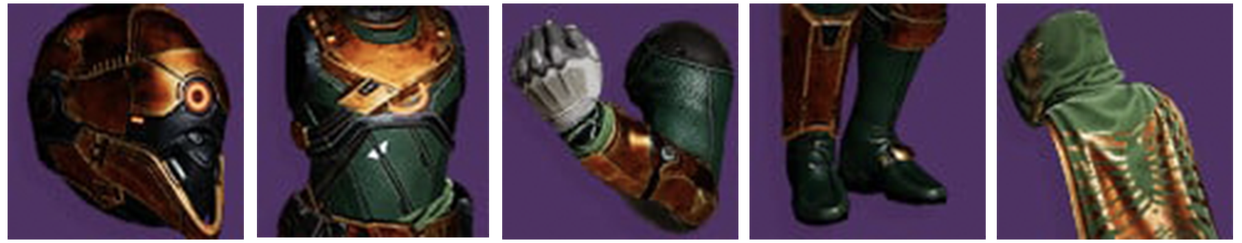 HUNTER LEGACY'S OATH ARMOR SET - Vault of Glass Carries