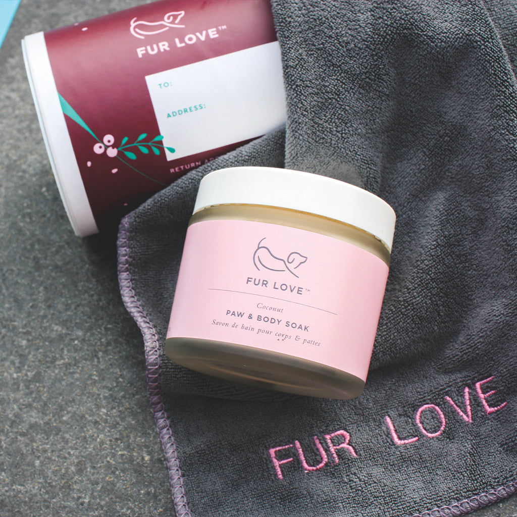 Paw Soak & Towelette Christmas Gift Pack