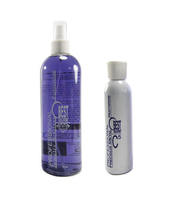 BEST SOLUTION Jewelry Cleaner 16oz Spray Bottle with C5 Metal Polish 8oz Bottle