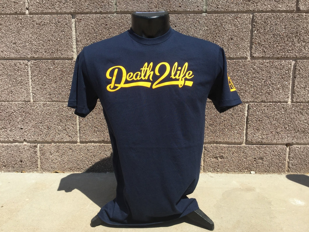 Navy Team Style T-Shirt