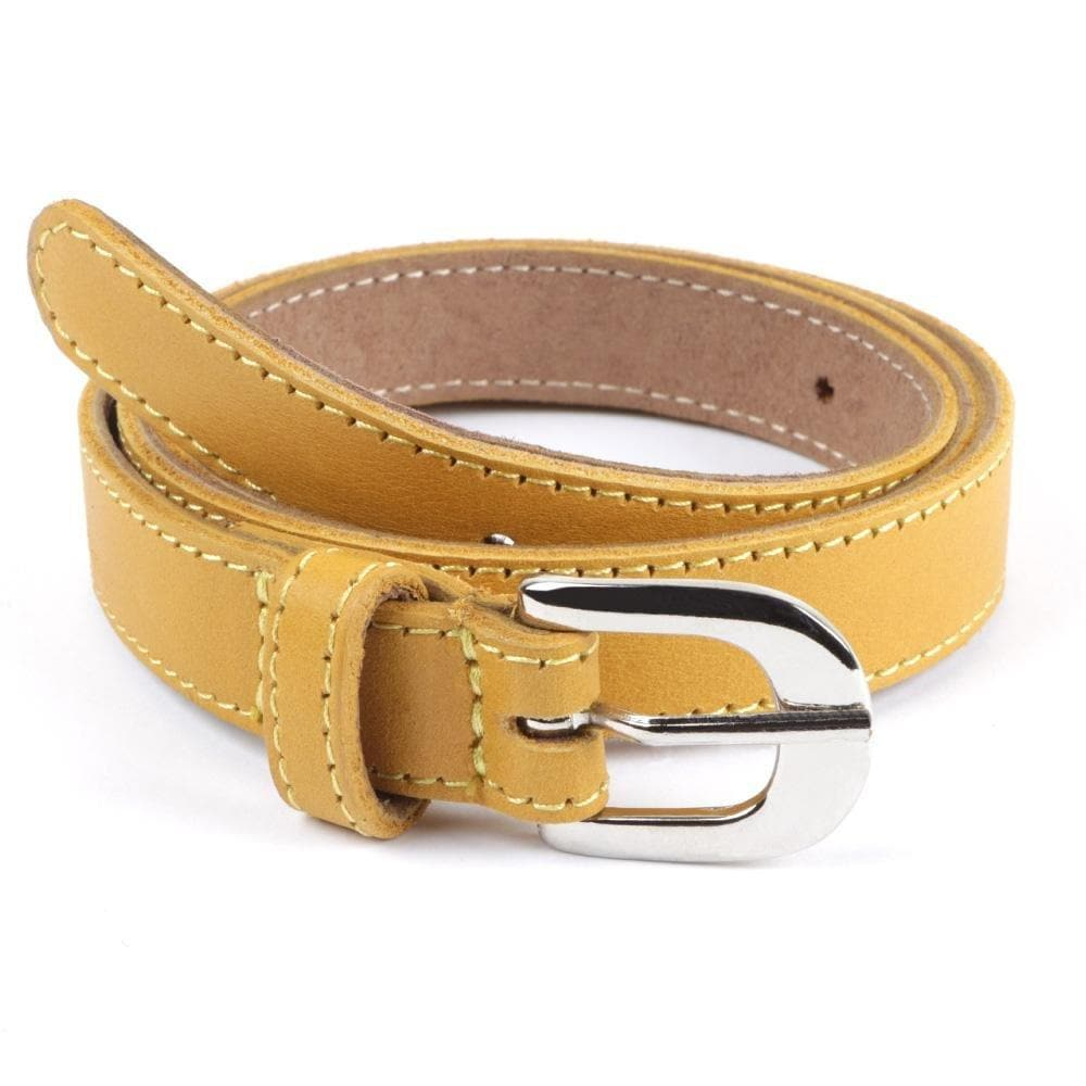 Belt Yve Ladies Leather belt 20mm width - Freestyle SA Proudly local leather boots veldskoens vellies leather shoes suede veldskoens