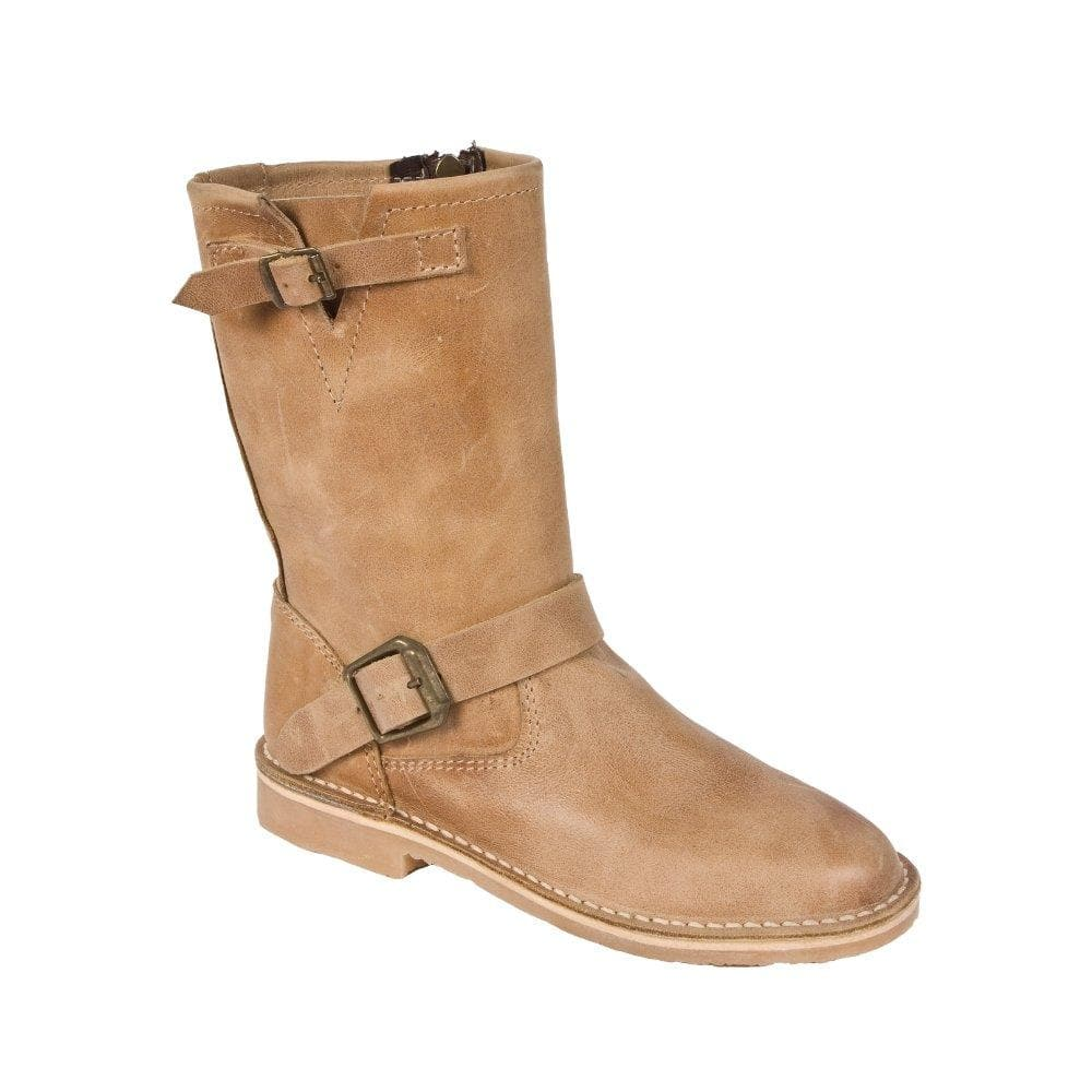 Claire Boot - Freestyle Handcrafted Leather Proudly local leather boots veldskoens vellies leather shoes suede veldskoens